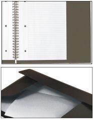 Oxford International Cahier 'METTINGBOOK', quadrillé, A4+