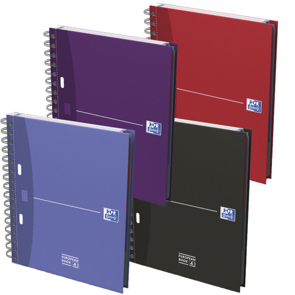 Oxford 5401016 6 90 oxford office cahier spirale european book 4 format a5 - Cahier oxford office book ...