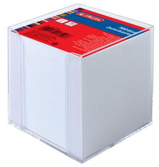 herlitz Boîtier pour bloc-notes, en plastique, 90 x 90 mm