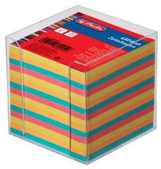 herlitz Bloc de fiches pour boîte, 90 x 90 mm, blanc