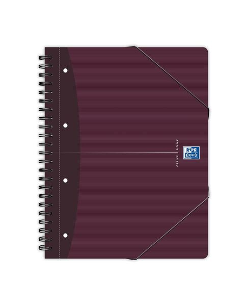 Oxford 5401380 9 90 oxford office cahier 39 meetingbook 39 quadrill 5 x 5 a4 - Cahier oxford office book ...