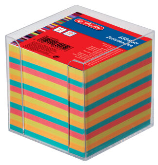 herlitz Bloc cube, 90 x 90 mm, coloré