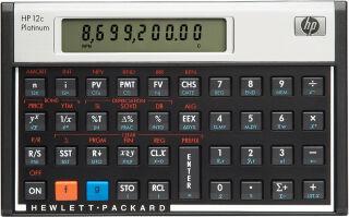 hp Calculatrice financière hp 12c Platinum