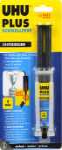 UHU Colle à 2 composants plus adhérence rapide, tube de 35 g
