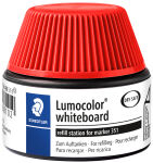 STAEDTLER Flacon-recharge 488 51 Lumocolor, rouge