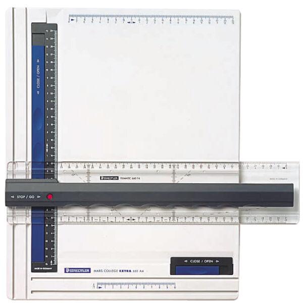 staedtler 5653694 55 65 planche dessin mars a3 blanc anthracite bleu. Black Bedroom Furniture Sets. Home Design Ideas