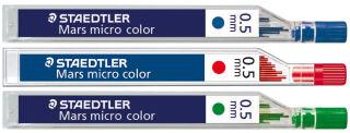 STAEDTLER Mines pour porte-mines 'Mars micro color', bleu