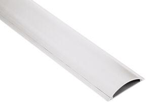 hama Passe-câbles, demi-rond, longueur: 1,0 m, blanc