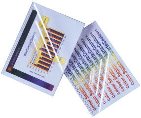 GBC Couverture de reliure HiClear, A5, cristallin, 0,24 mm