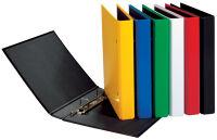 PAGNA classeur à anneaux 'Basic Colours', jaune, format A5,