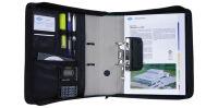WEDO Porte-documents, noir, pour classeur de format A4