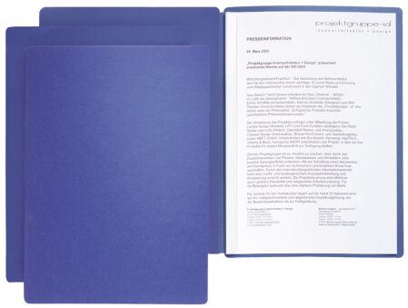 PAGNA chemise de présentation / candidature 'Star', A4,beige