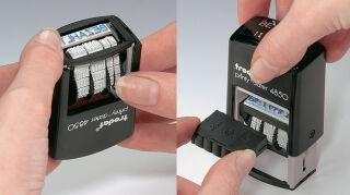 Trodat Cassette d'encrage de rechange 6/4850/2, bleu/rouge