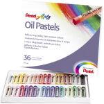 PentelArts pastel à huile PHN4, étui en plastique de 36