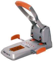 Rapid perforateur Supreme HDC 150/2, argent/orange