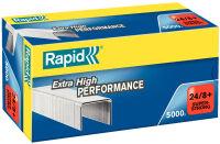 Rapid Agrafes Super Strong 24/8+, galvanisé