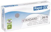 Rapid agrafes Standard No. 10, galvanisé