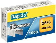 Rapid agrafes Strong 23/17, galvanisé
