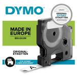 DYMO D1 Cassette de ruban à étiqueter noir/jaune,12 mm x 7 m
