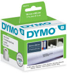 DYMO Etiquettes d'adresse LabelWriter, 89 x 36 mm, blanc