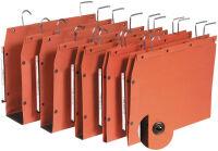 ELBA l'oblique Dossiers suspendus TUB, orange, fond: 15 mm,