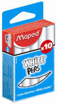 Maped craie pour tableau WHITE'PEPS, rond, blanc,
