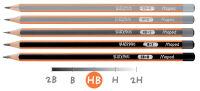Maped Crayon BLACK'PEPS, degré de dureté: HB