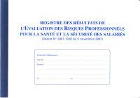 ELVE Registre 'Evaluation des risques professionnels'