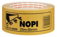 NOPI ruban adhésif double face nopifix en PP, 50 mm x 25 m