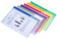 tarifold tcollection Pochettes pour documents, 250 x 135 mm,