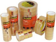 3M Scotch Ruban adhésif 508, 19 mm x 66 m, transparent