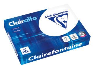Clairalfa Papier multifonction, A4, 120 g/m2, extra blanc