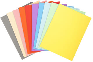 EXACOMPTA Chemises FOREVER 250, A4, jaune