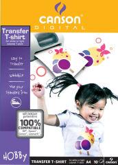 CANSON Papier transparent de transfert pour T-Shirt,