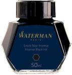 WATERMAN Flacon d'encre, noir, contenu: 50 ml en verre
