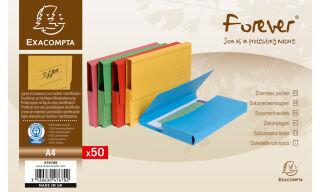 EXACOMPTA Pochette documents FOREVER, A4, jaune