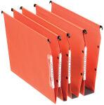 Esselte Dossiers suspendus DUAL, fond: 15 mm, orange