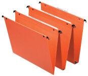 Esselte Dossiers suspendus Dual, fond:15 mm, orange