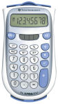 TEXAS INSTRUMENTS calculatrice de poche TI-1706 SV,