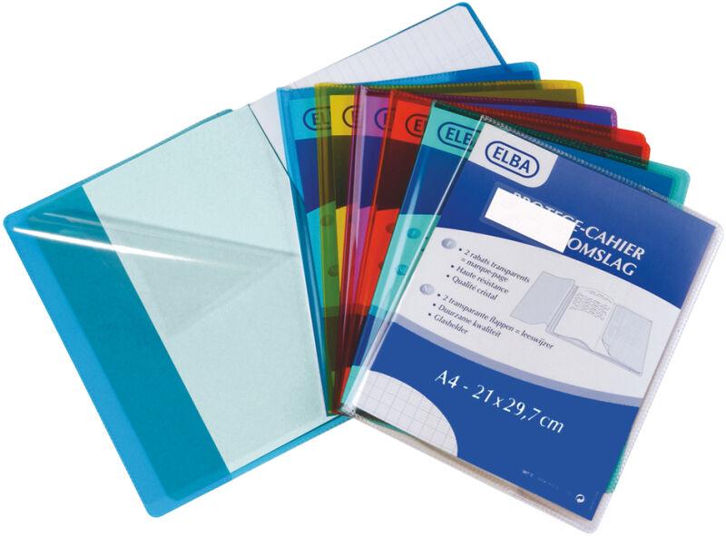 Elba 339130500 3 90 prot ge cahier 240 x 320 mm - Protege cahier avec rabat ...