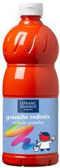 LEFRANC & BOURGEOIS Gouache liquide 1.000 ml,rouge vermillon