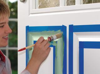 tesa Masquage pour laques et vernis, 30 mm x 25 m, bleu