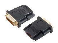 Adaptateur HDMI - DVI-D 24+1, HDMI 19 pôles femelle - DVI-D mâle 24+1