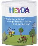 HEYDA Set de tampons encreurs 'Rainbow', boîte transparente