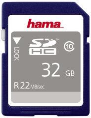 hama Carte mémoire High Speed Gold SecureDigital, 32 Go