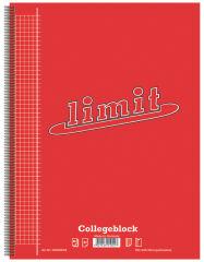 limit Cahier, A4, quadrillé, 160 feuilles