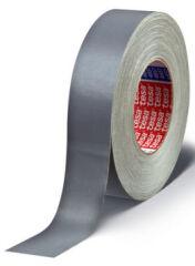 tesa Ruban adhésif toilé 4657, 19 mm x 50 m, gris