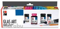 """Peinture pour verre """"GlasArt"""", kit de  démarrage"""