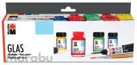 """Peinture pour verre """"Glas"""", kit de  démarrage"""