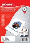 Kores T-shirt Papier transfert, pour textiles foncés